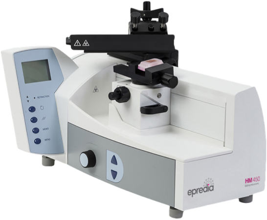 HM 450 Fully Automated Sliding Microtome